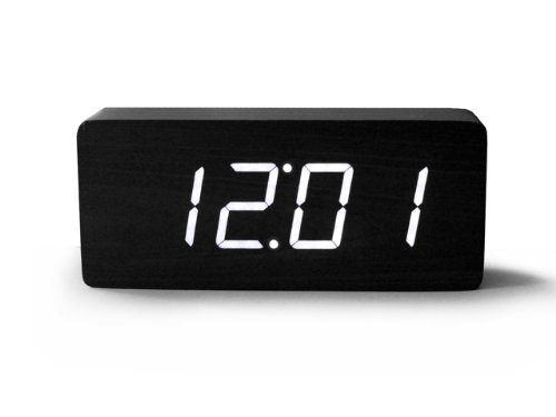 Digital Alarm Clock with White LED Light