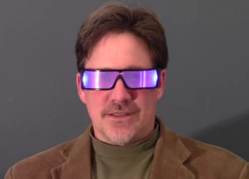 GloSpex Light-Up Sunglasses