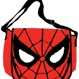 Marvel Spider-Man Eyes 15-Inch by 12-Inch Messenger Bag