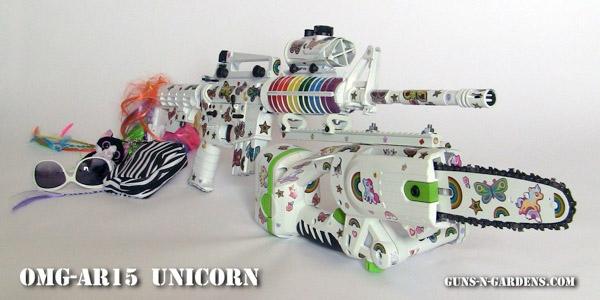 Unicorn Zombie Gun