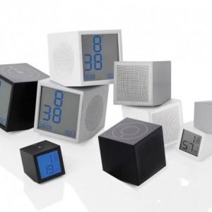 Prism Series Clock & Speaker