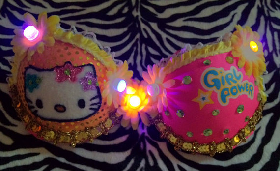 LED light up Hello Kitty Costume