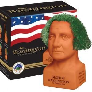 George Washington Handmade Decorative Planter