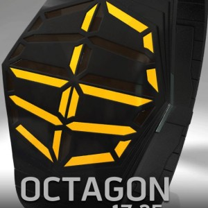 Octagon LED. An easy, sleek LED watch design