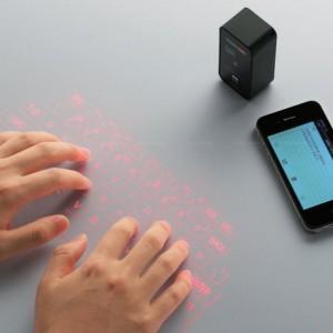 The virtual laser keyboard