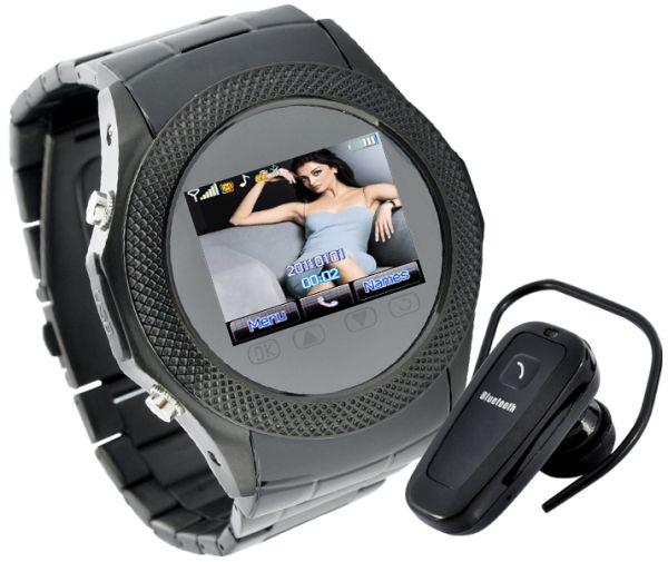 Assassin Dusk - Touchscreen Mobile Phone Watch + MP4