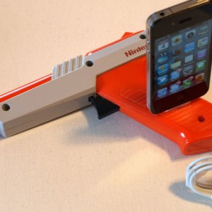 iPhone Dock and iPod Dock - Nintendo Light Gun