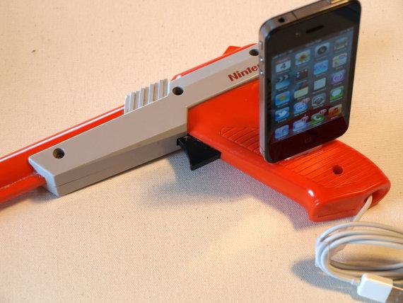iPhone Dock and iPod Dock - Nintendo Light Gun