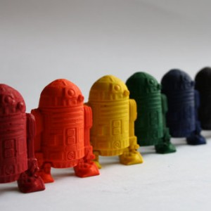 Star Wars R2-D2 Mini Crayons