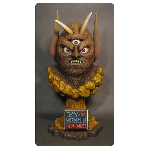 Day the World Ended Marty Three Eyed Mutant Bust
