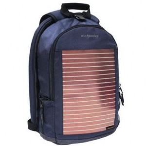 "Traveler's Choice Eco Traveler 18"" Checkpoint-Friendly Solar Backpack"