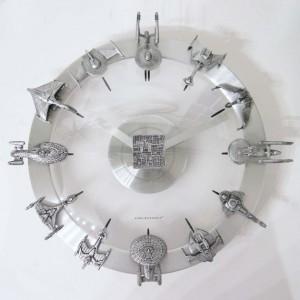 Star Trek Clock