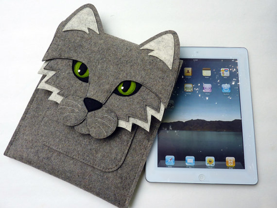 Cat iPad 2 sleeve