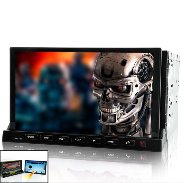 Road Terminator – Car DVD with 7 Inch Detachable Android 2.3 Tablet Panel