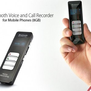 Bluetooth Voice and Call Recorder for Mobile Phones