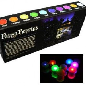 Fairy Berries - Box of 10 Magical LED Lights