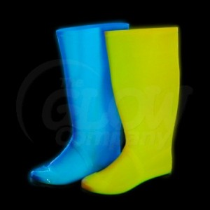 Glow in the Dark Wellington Boots