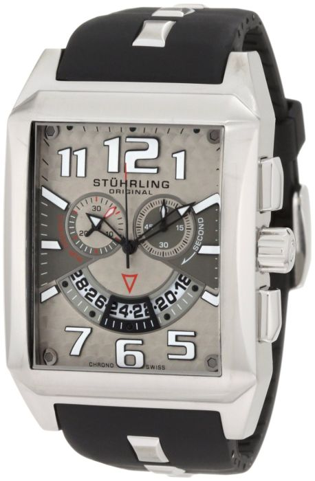 Stuhrling Original Men's Silvertone Watch