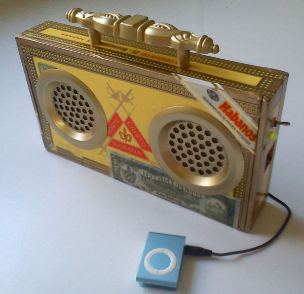 Portable Rechargeable Speaker System