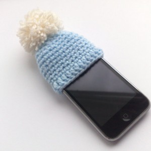 iPhone woolly hats