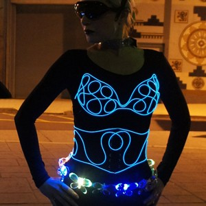 Light-Up Glow Bra