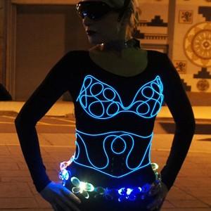Light-Up Glow Bra