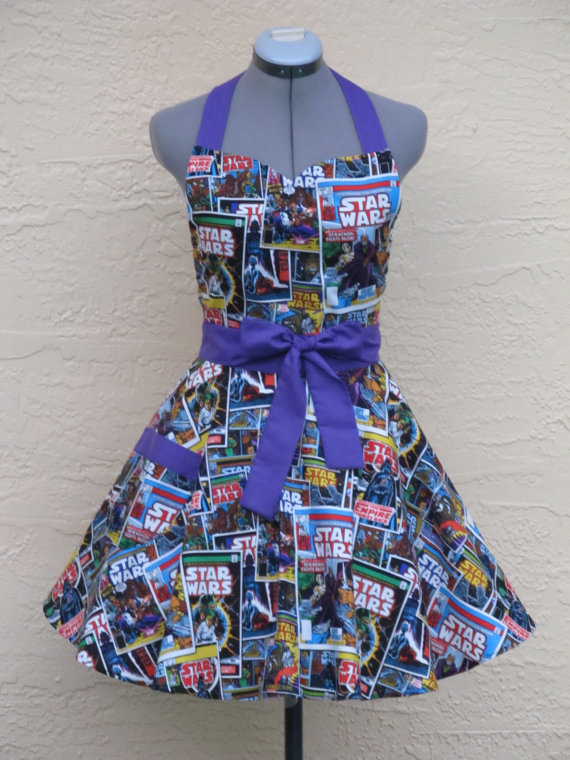 Star Wars Apron – Sexy Comic Strip Vintage