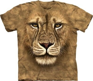 The Mountain Lion Warrior Mens T-shirt