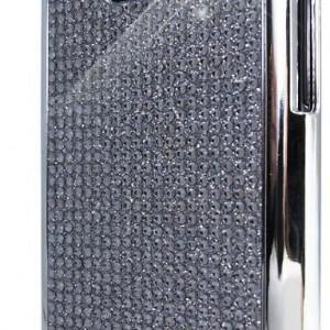 Samsung Galaxy S 2 II i9100 Novoskins Silver Crystal Chic Chrome