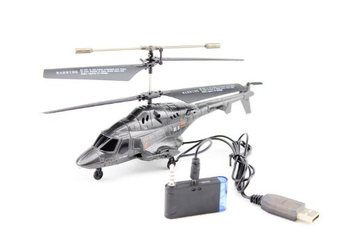 Mini RC Helicopter Gyro Launching Missile iPhone/iPad/iPod touch/Android control