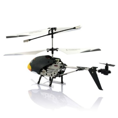 Rechargeable Angry Birds 3.5-Channel Infrared Mini RC Helicopter Airplane