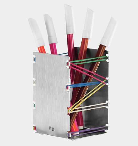Fold-and-Play Pencil Holder