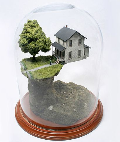 Miniature Worlds on the Brink of Disaster