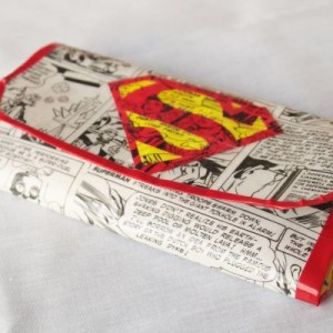 Superman Women's Duct Tape Wallet