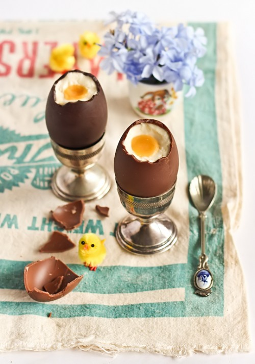 Cheesecake: Chocolate Easter Eggs