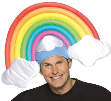Rainbow Costume Hat
