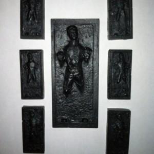 7 Han Solo in Carbonite SOAPS