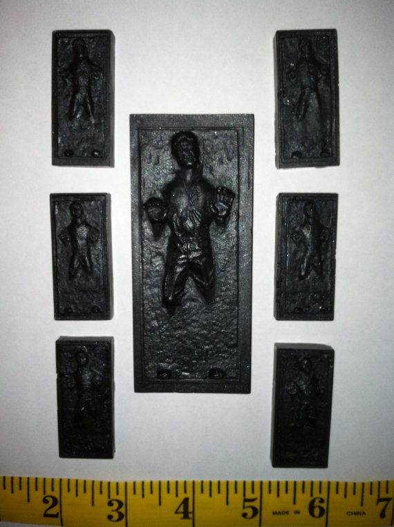 7 Han Solo in Carbonite SOAPS