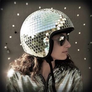 Disco Ball Motorcycle Helmet