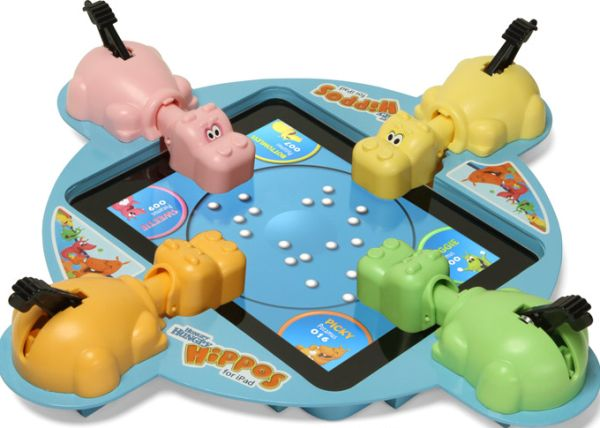 Electronic Hungry Hungry Hippos for iPad