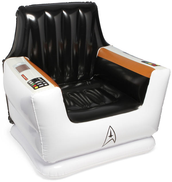 Star Trek Inflatable Captain's Chair