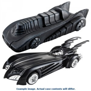 Hot Wheels 1:50 Batman Vehicles Case