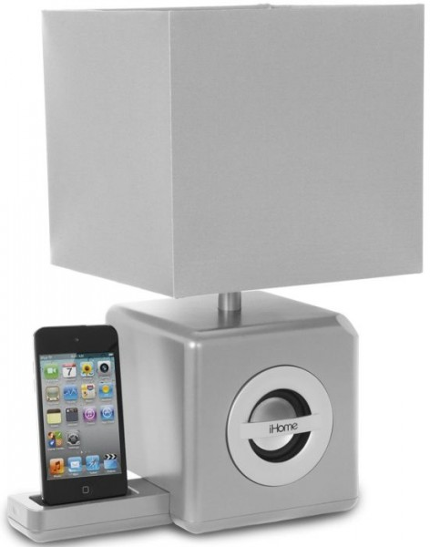 iPad/iPod/iPhone Speaker Dock/LED Ambient Lamp