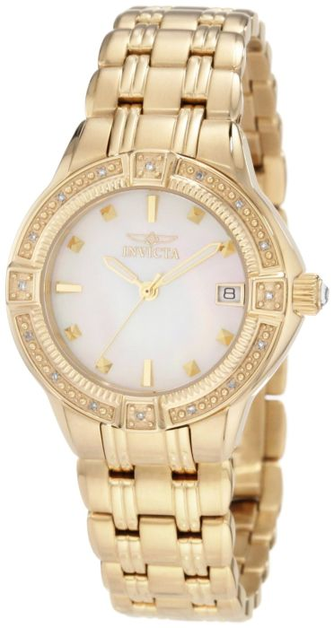 84% Discount: Invicta Women's 18k Gold-Plated Watch