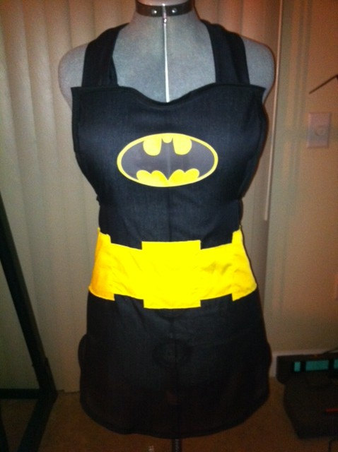 Batman apron