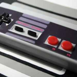 Convention Scratch and Dent NES Controller