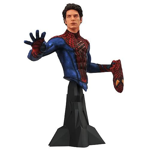Spider-Man Movie Maskless Spider-Man Bust