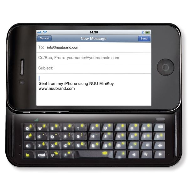The Illuminated iPhone Slide Out Keyboard