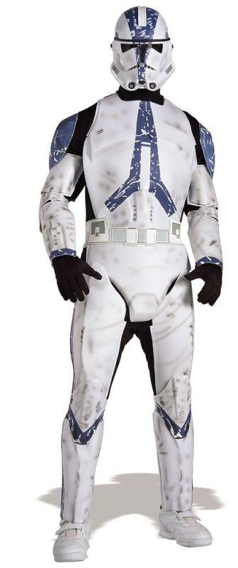 Star Wars Clone Trooper Sci Fi Movie Costume