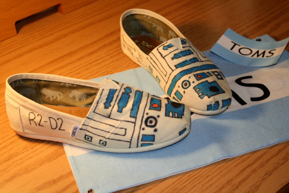 R2-D2 TOMs shoes